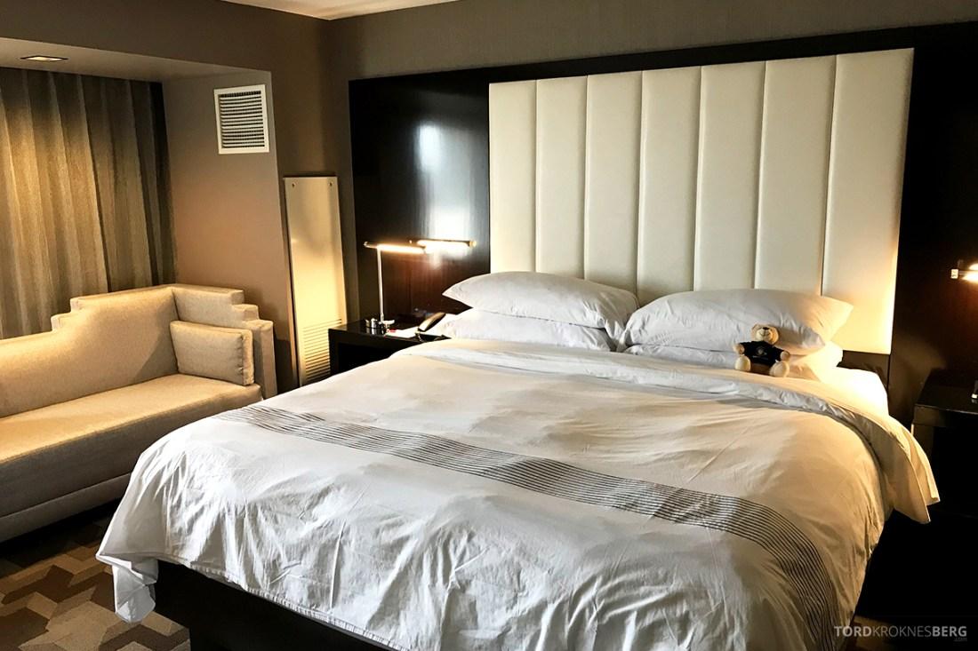 Beverly Hills Marriott Hotel seng