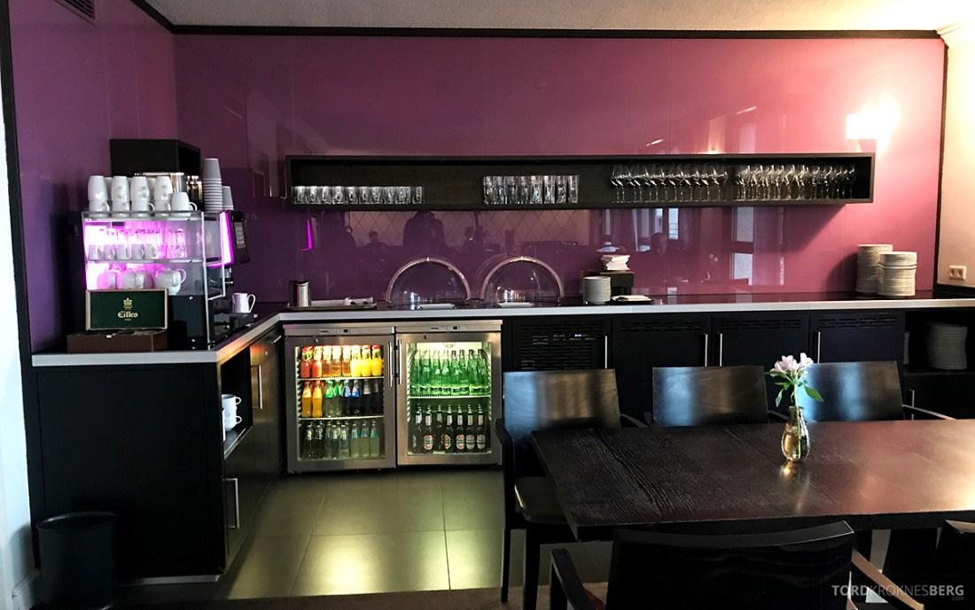 Marriott Hamburg Hotel Executive Lounge buffetområde