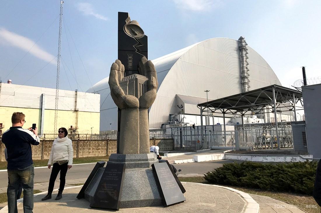 Chernobyl Pripyat Tour minnesmerke ulykke