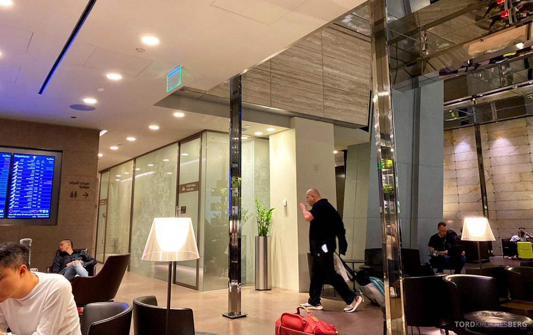One World First Class Lounge Doha Qatar oversikt