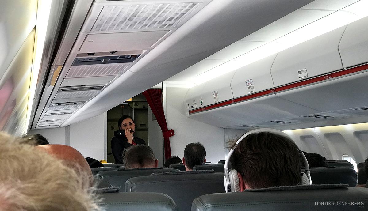 SWISS Economy Class Helvetic Fokker 100 Kiev Oslo klargjøring
