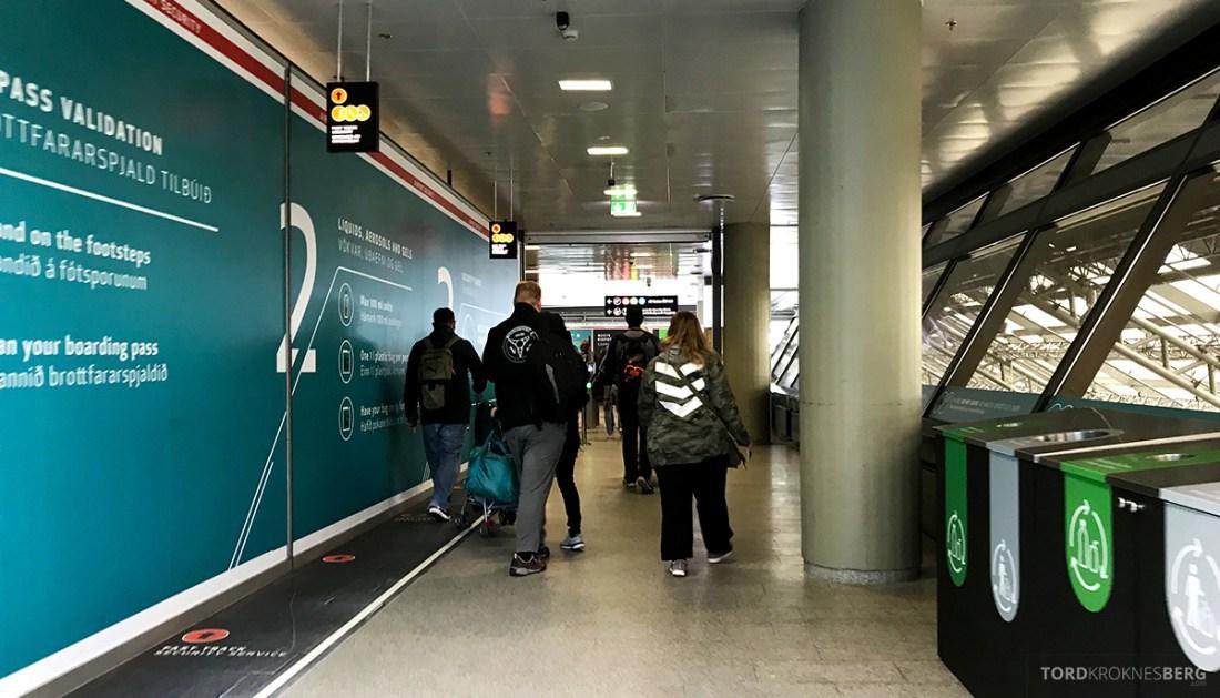SAS Plus Reykjavik Oslo fast track