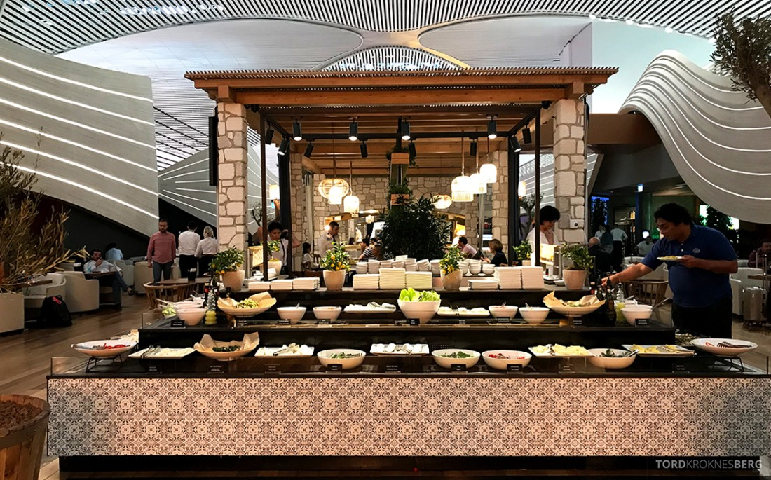 Miles&Smiles Lounge Istanbul buffet