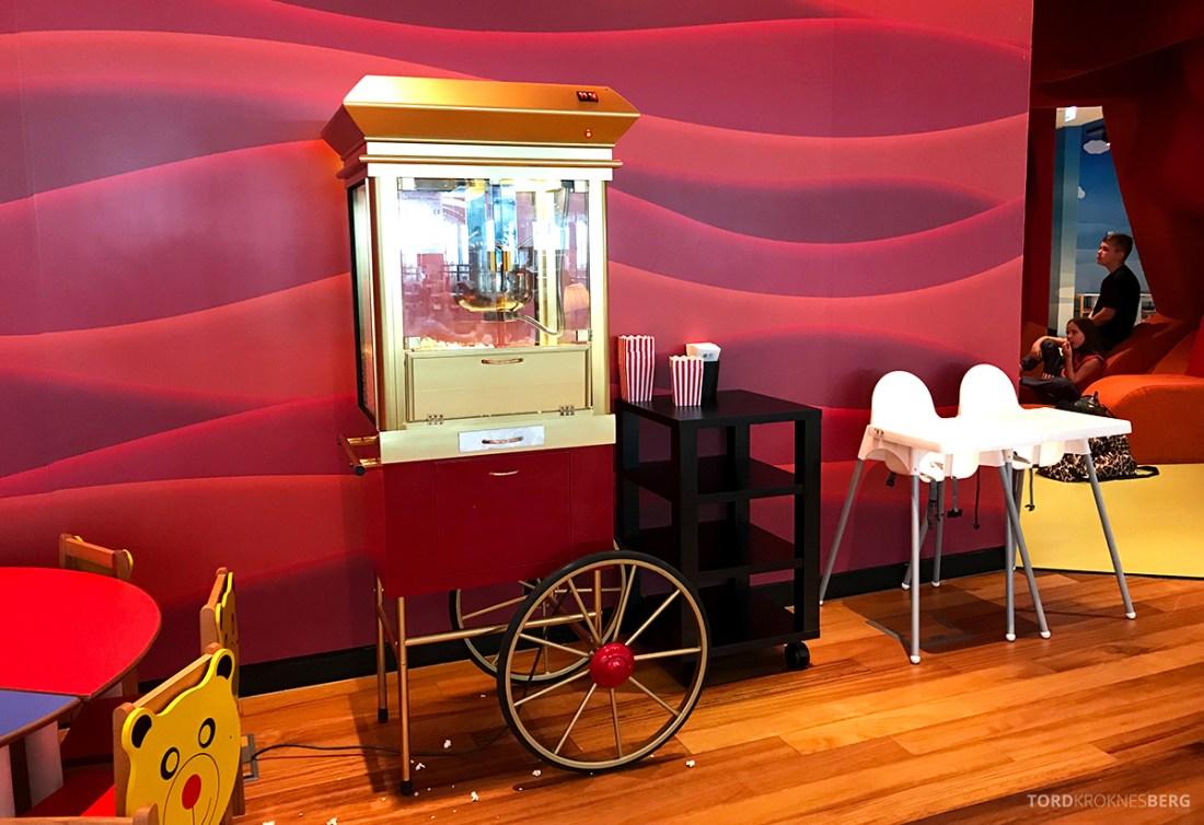 Miles&Smiles Lounge Istanbul popcornmaskin