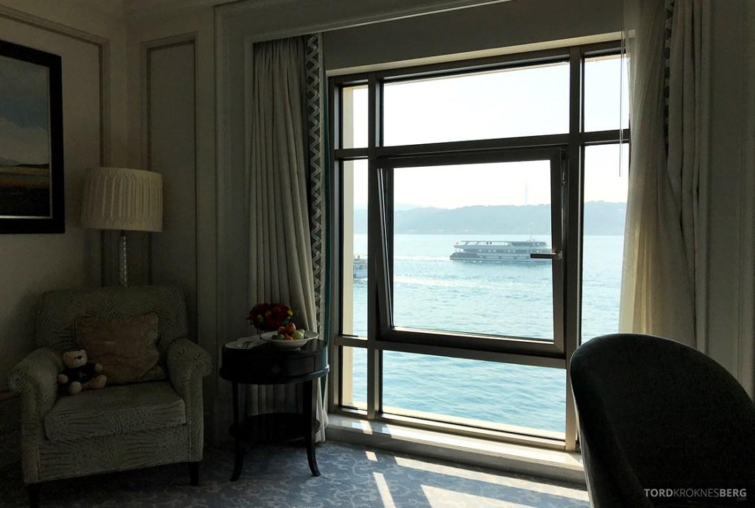 Shangri-La Bosphorus Istanbul Hotel utsikt