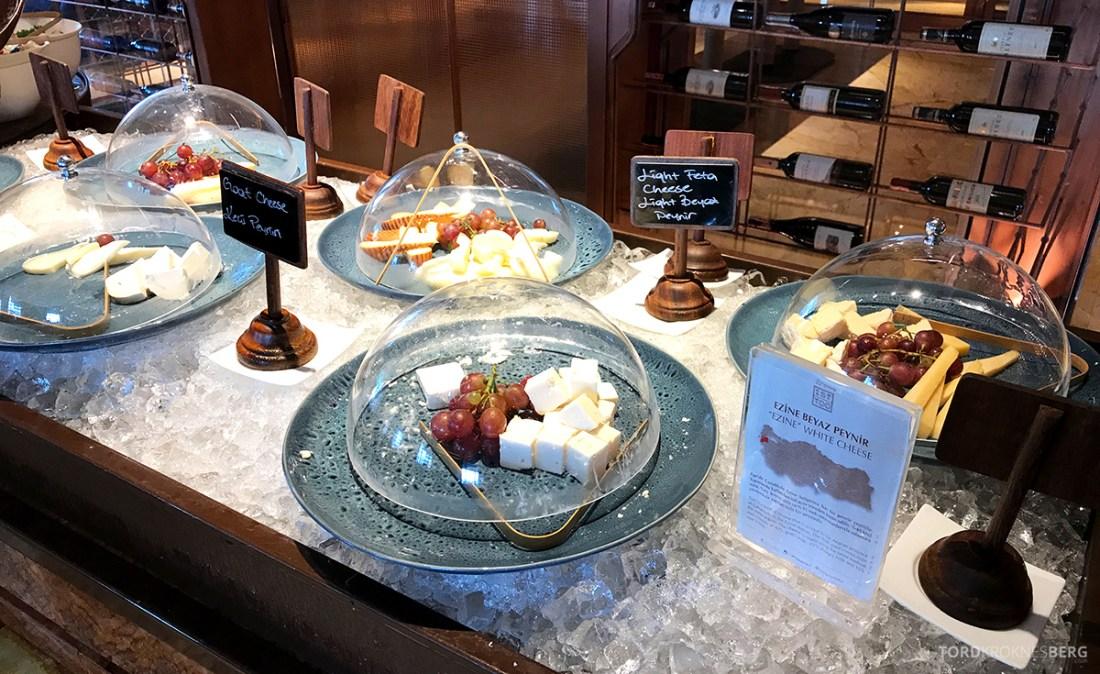 Shangri-La Bosphorus Istanbul Hotel frokost oster