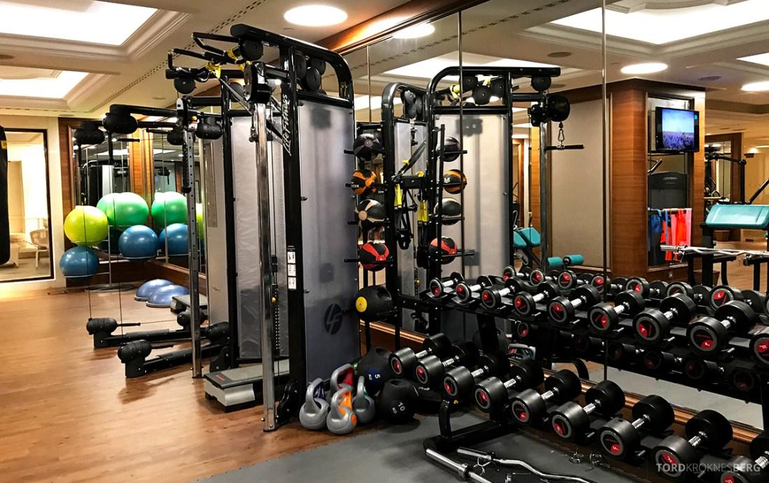 Shangri-La Bosphorus Istanbul Hotel gym vekter