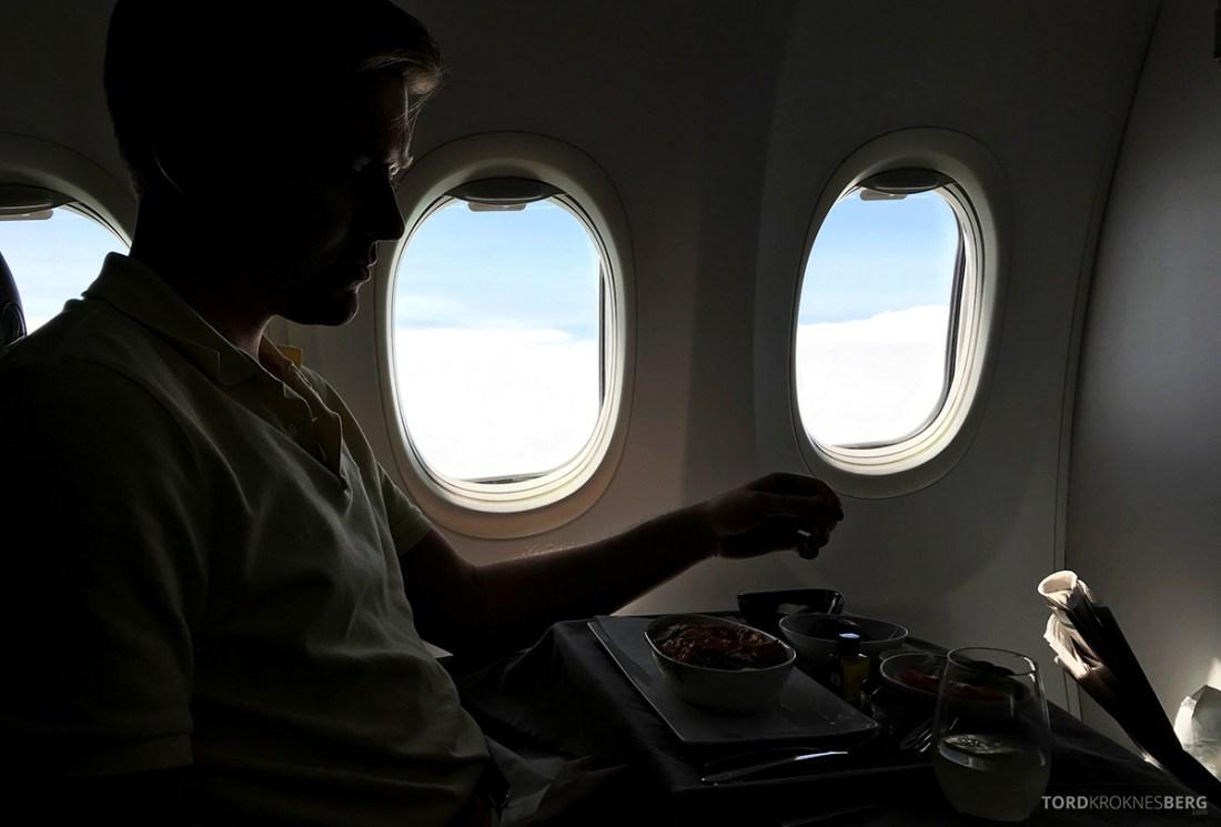 Turkish Airlines Economy Business Class Baku Istanbul Oslo Tord Kroknes Berg