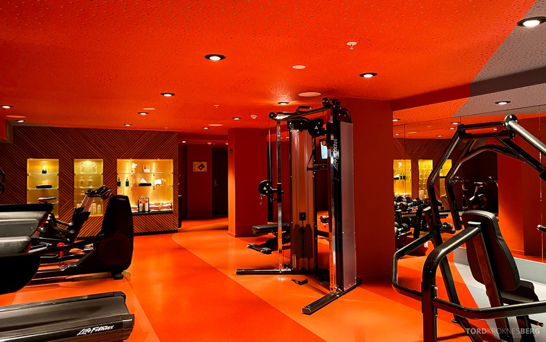 Hotel Norge by Scandic Bergen apparater gym