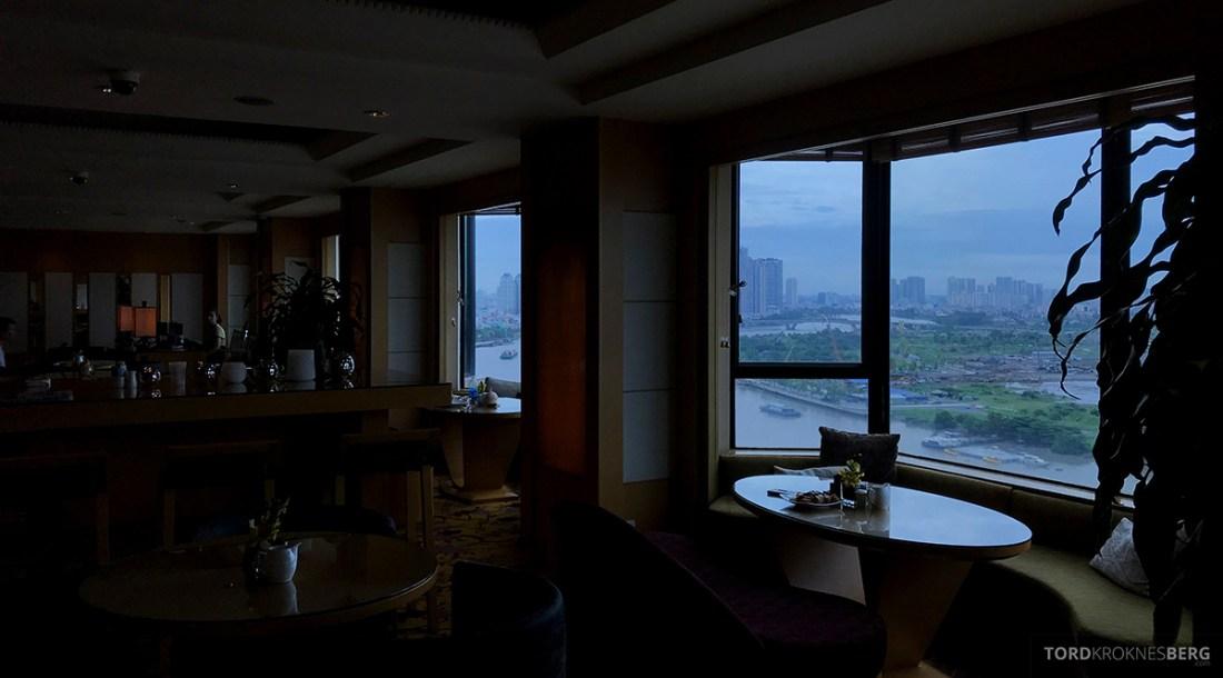Renaissance Riverside Hotel Saigon Ho Chi Minh City Club Lounge utsikt