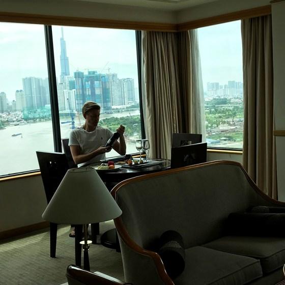 Renaissance Riverside Hotel Saigon Ho Chi Minh City Tord Kroknes Berg suite