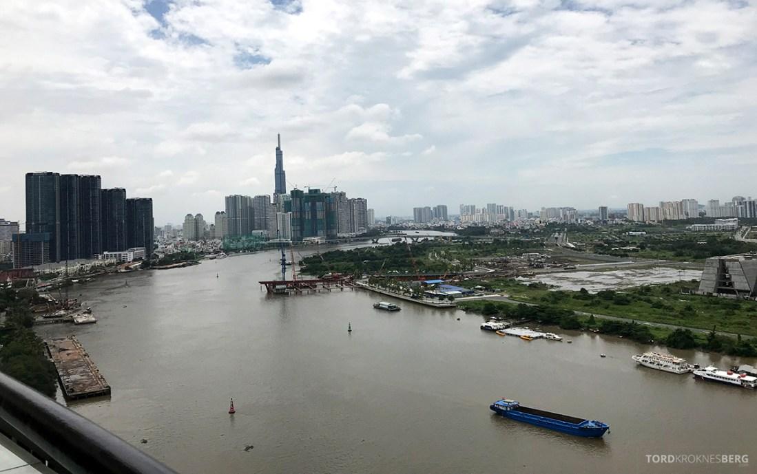Renaissance Riverside Hotel Saigon Ho Chi Minh City utsikt