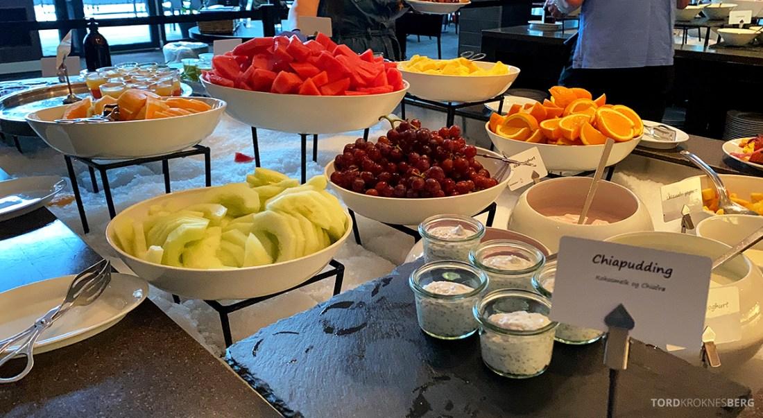 Farris Bad Larvik frokost frukt