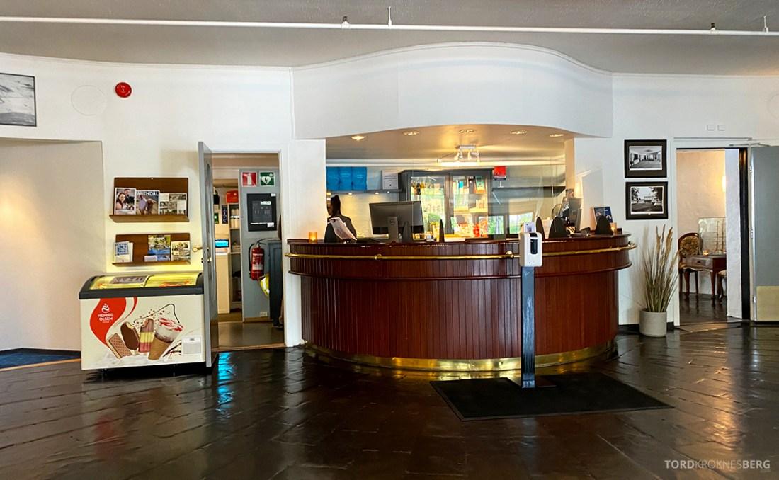 Strand Hotel Fevik resepsjon