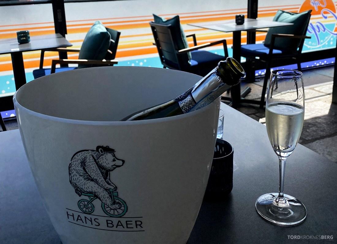 Café Capri Aker Brygge Oslo vin