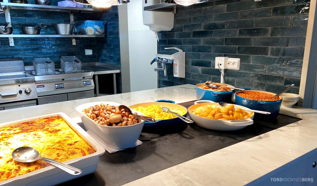 Sola Strand Hotel Stavanger frokost varmmat