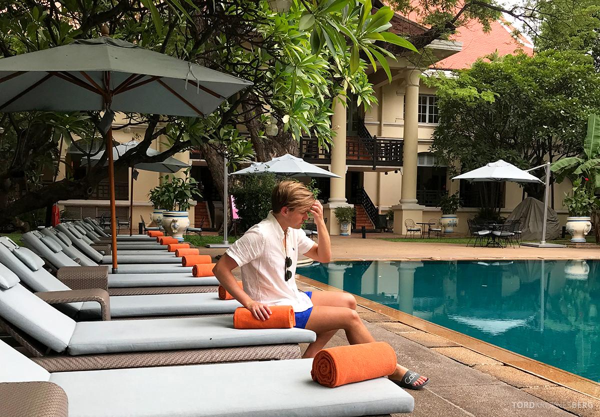 Raffles Hotel Le Royal Phnom Penh Tord Kroknes Berg pool