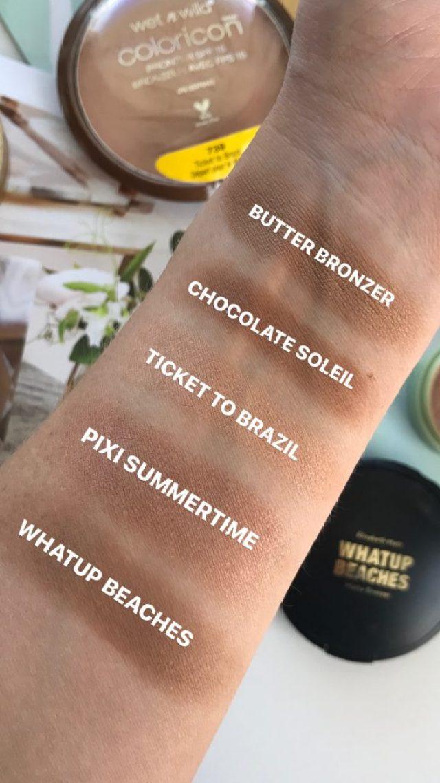 Summer Bronzer Lineup | Mostly Drugstore