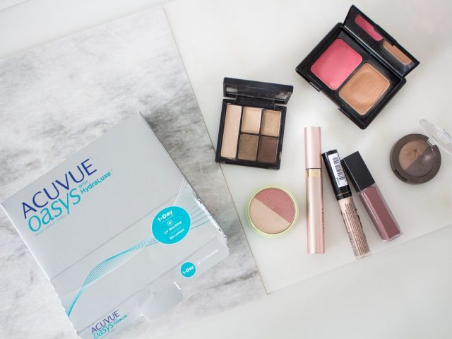 Fall Makeup Look and Filming with ACUVUE® Brand Contact Lenses