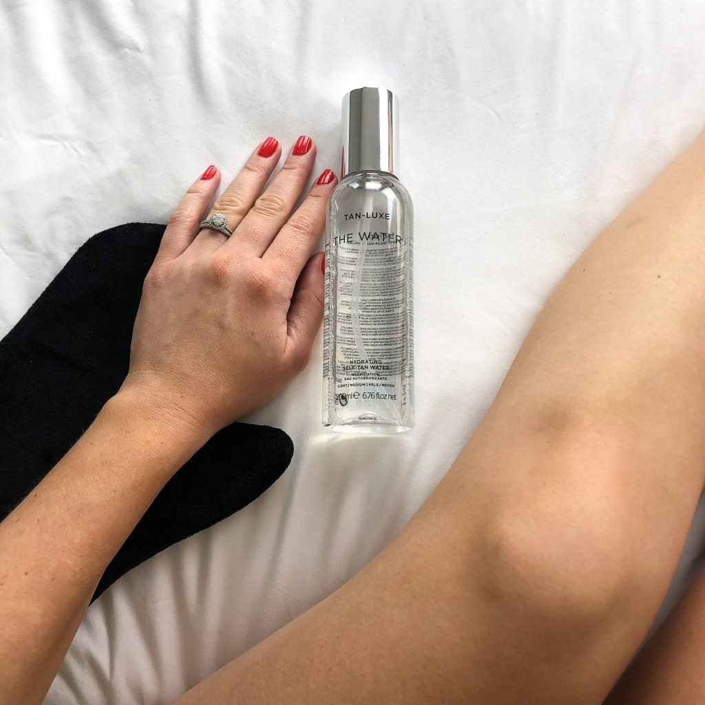 Tanning with Water?   Tan-Luxe The Water Review