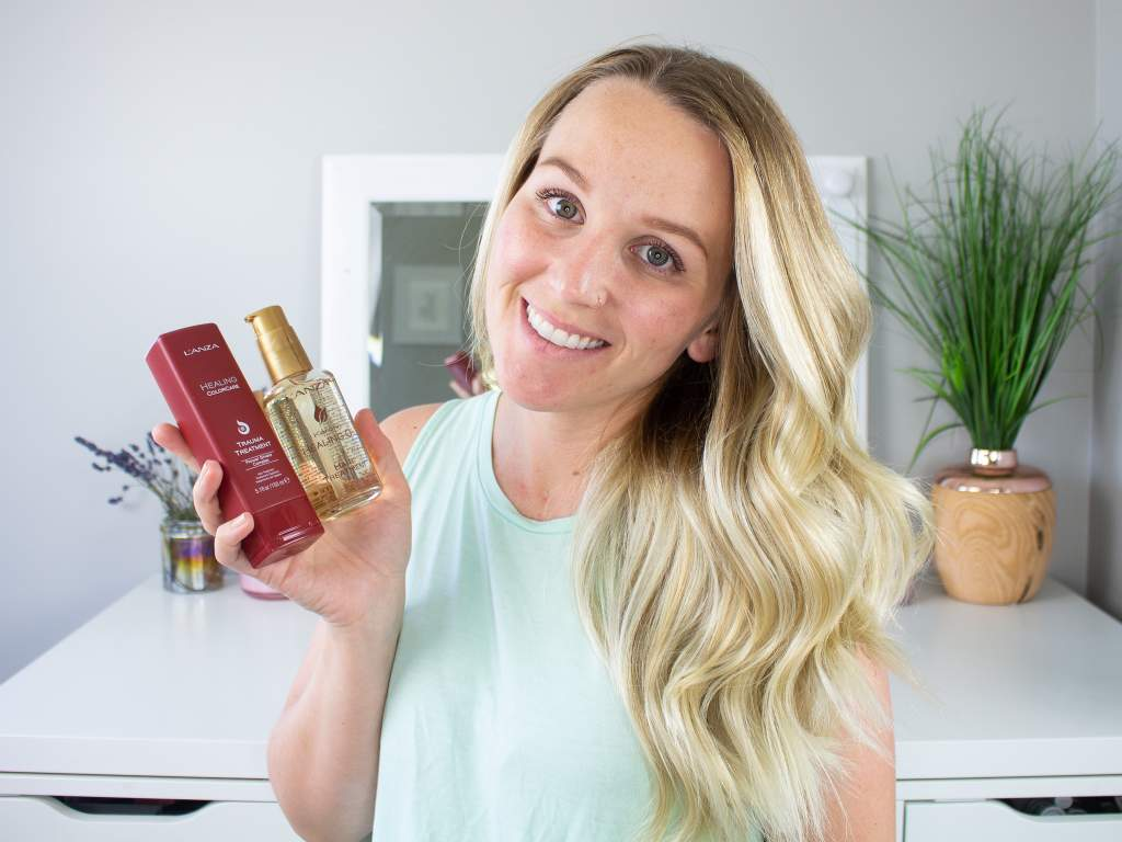 Healthy Wavy Hair Tutorial with L'ANZA Haircare