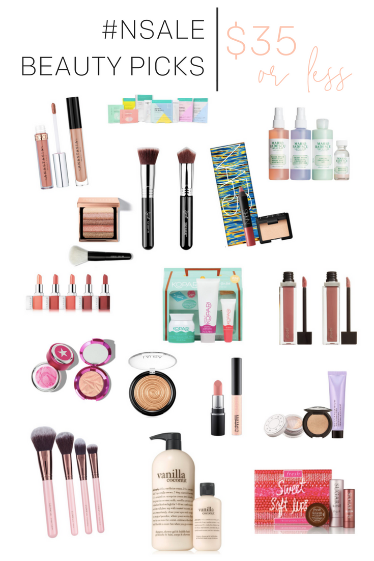 Nordstrom Anniversary Sale 2018 | Beauty Picks Under $35