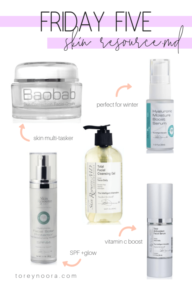 Friday Five | Skin Resource.MD Favorites