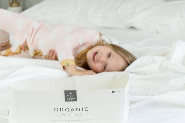 Why You Should Buy Organic Sheets | Under The Canopy