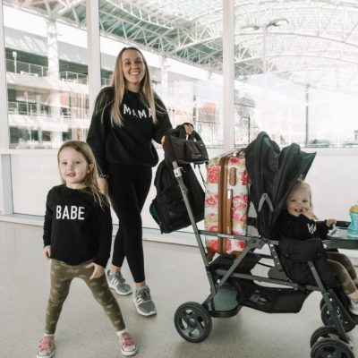 Flying with Toddlers 101 + Why we love GRR