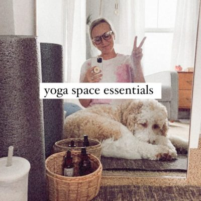 YOGA ESSENTIALS | how to create a space to stretch and relax