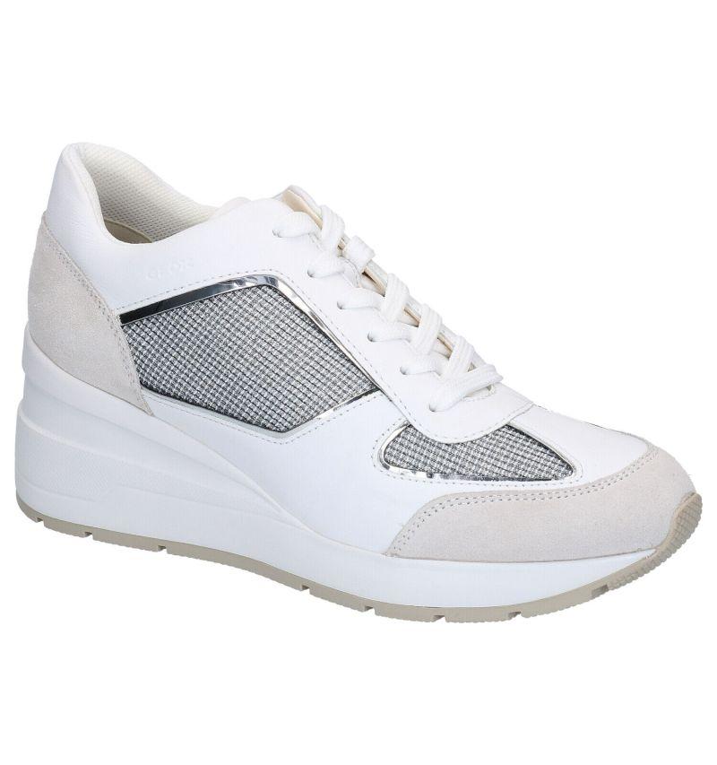 Geox Zosma Witte Sneakers
