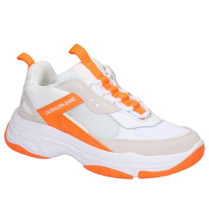 Calvin Klein Maya Witte Sneakers