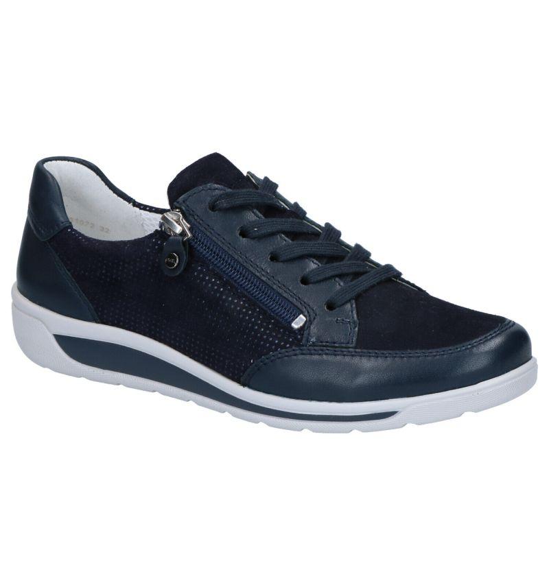 Ara Meran Blauwe Lage Schoenen