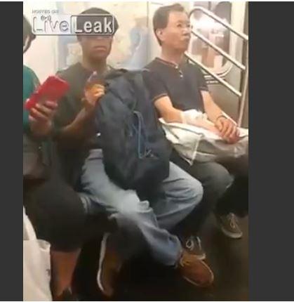 man caught for masturbation