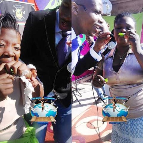 Shocking! South African Pastor Makes Members Eat Mango Leaves