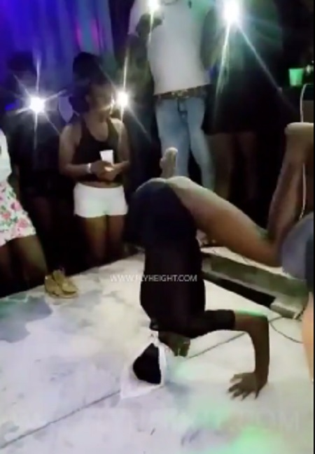 {filename}-Twerking Gone Bad! Girl Breaks Neck While Twerking On A Handstand (graphic Video)