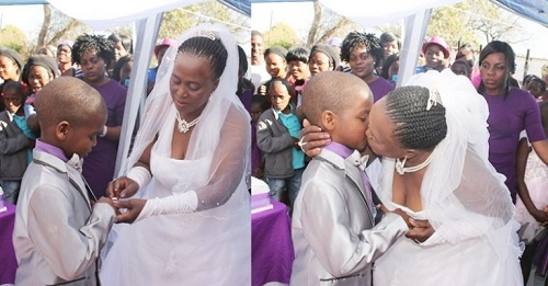 8-year-old Boy Marries 61-year-old Mother of Five- Sanele ...