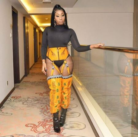 Check Out These Nudes Outfit, Singer Victoria Kimani Shows In Public (Photos)
