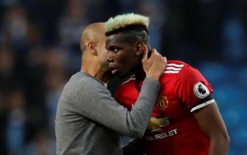 Sport: Premier League Pep Guardiola Reveals What He Told Pogba After Manchester Derby