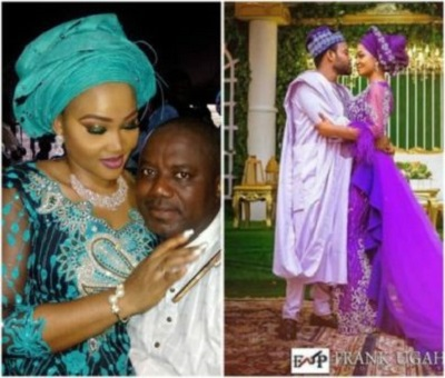 Mercy Aigbe's  Shows Beautiful Pictures OF Her and her husband On Social Media