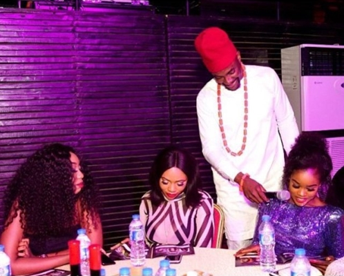 What is Behind These Photos Of Ebuka With Cee-C