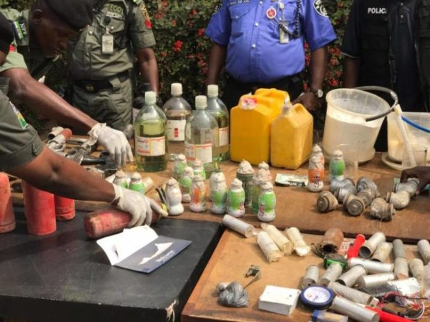 Image result for notorious Bomb Makers arrested in Edo State