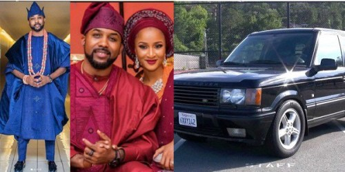 Banky W's Wife, Adesua Reacts After Two Ladies Mocked Her Husband For Driving A 2008 Range Rover SUV