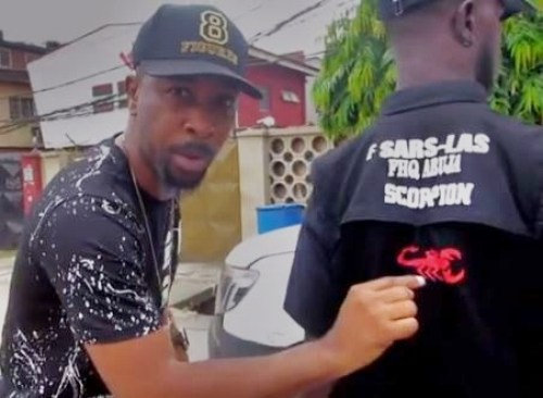 Ruggedman has enlightened the general public on how to identify the real officers from impersonators.