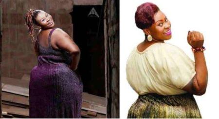 Photos of Heavy Curvy Ghanaian Actress