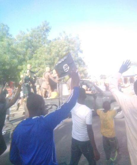 Shocking video of Boko Haram members dropping off Dapchi girls in