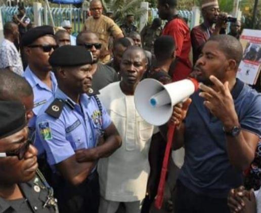 Image result for Deji Adeyanju arrested again
