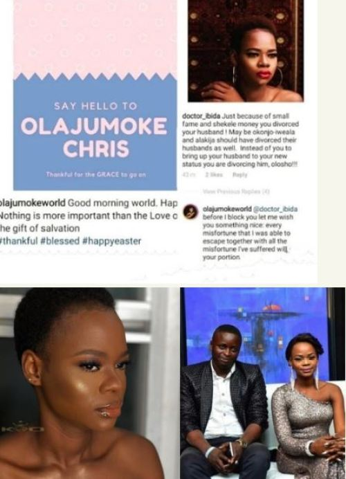 Olajumoke Orisaguna Confirms Divorce, Places Curse Of Misfortunes On