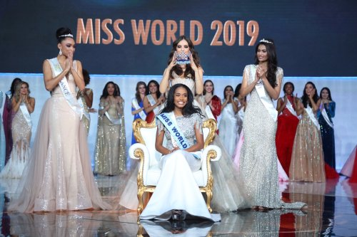 Jamaica's Toni-Ann Singh was crowned as Miss World 2019 on Saturday