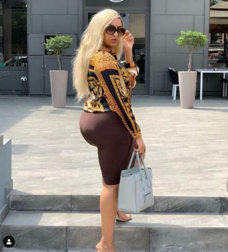 Ghanaian Actress, Juliet Ibrahim Flaunts Protruding Bum In Latest Photos 1